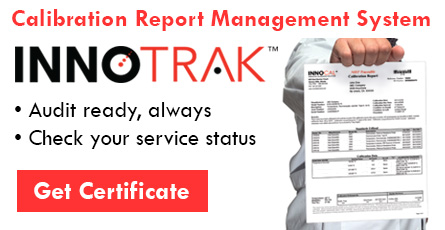 InnoTrak calibration report management system